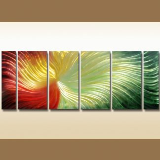5 Panels 6 Panels Abstract Multi Canvas Framed Art Multi Piece Framed Canvas Art