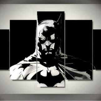 5 Panels Batman Multi Piece Framed Canvas Art