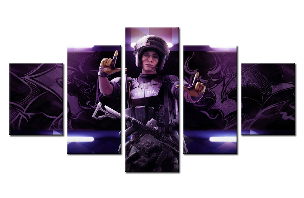 Rainbow Six Siege Mira Multi Canvas Art