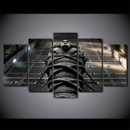 5 Panels The Mummy Multi Piece Framed Canvas Art Poster Print