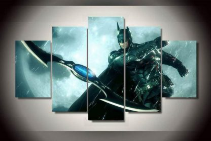 5 Panels Batman Multi Piece Framed Canvas Art Poster Print