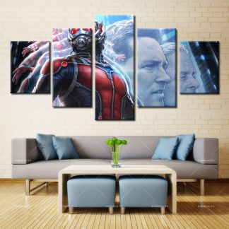 5 Panels Ant Man Multi Piece Framed Canvas Art Poster Print