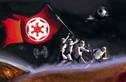 1 Panel Dominance Of Galactic Empire Multi Canvas Art