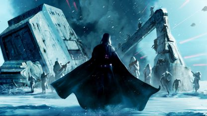 1 Panel Vader and Snowtroopers Multi Canvas Art