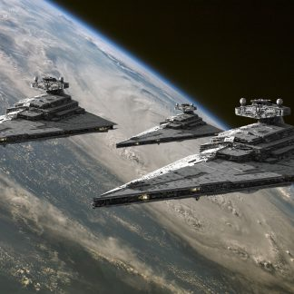 1 Panel Destroyers Of The Empire Multi Canvas Art