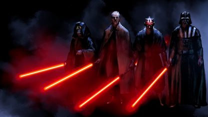 1 Panel Lords Of Dark Side Multi Canvas Art