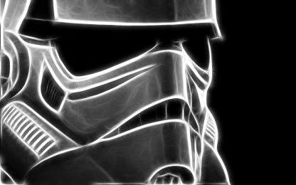 1 Panel Vigilant Stormtrooper II Multi Canvas Art