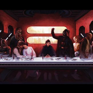 1 Panel Star Wars Dinner Table Multi Canvas Art