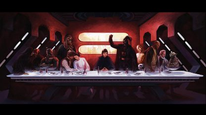 1 Panel Star Wars Last Meal Multi Canvas Art