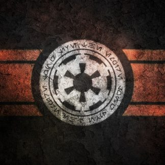 1 Panel Flag Of Galactic Empire Multi Canvas Art