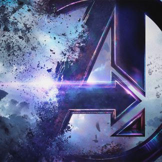 1 Panel Avengers Logo Multi Canvas Art