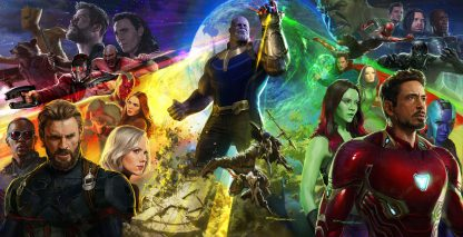1 Panel Avengers Infinity War Collage Multi Canvas Art