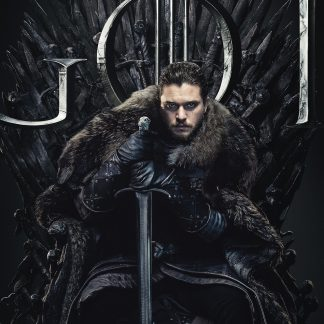 True Heir Of The Throne Poster Print Framed Canvas Art