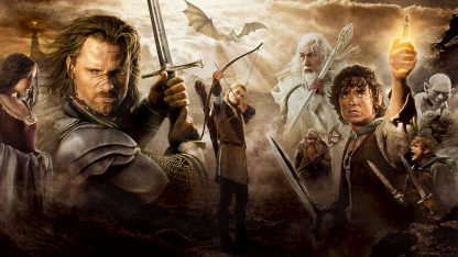 1 Panel Lord of the Rings  Multi Canvas Art