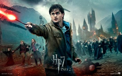 1 Panel Harry Potter And The Deathly Hallows Multi Canvas Art