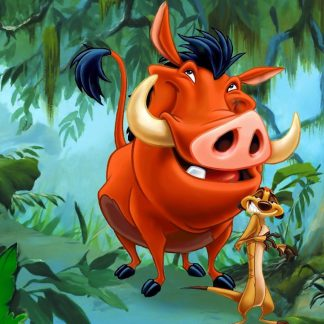 1 Panel Pumbaa Timon Ma and Uncle Max Multi Canvas Art
