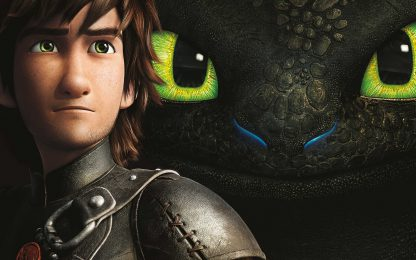 1 Panel Hiccup and Toothless Relationship Multi Canvas Art