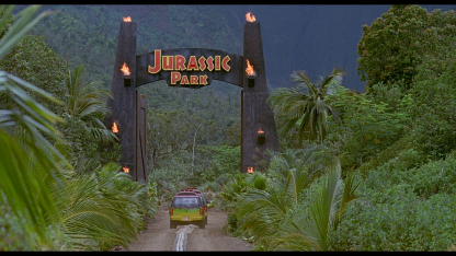 1 Panel Welcome To Jurassic Park Multi Canvas Art