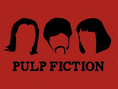 1 Panel Pulp Fiction For Life Multi Canvas Art