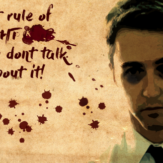 1 Panel 1st Rule of Fight Club Multi Canvas Art