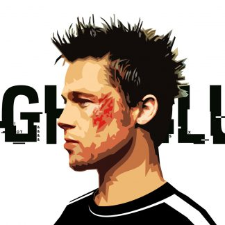 1 Panel Fight Club Multi Canvas Art