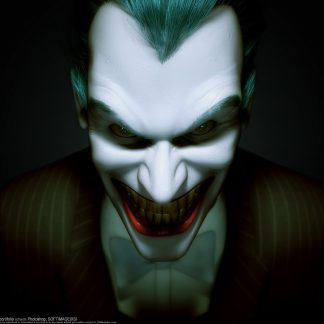 1 Panel Evil Joker Multi Canvas Art