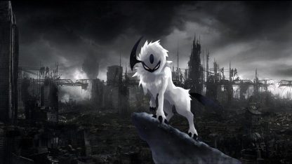 1 Panel Angry Absol Multi Canvas Art