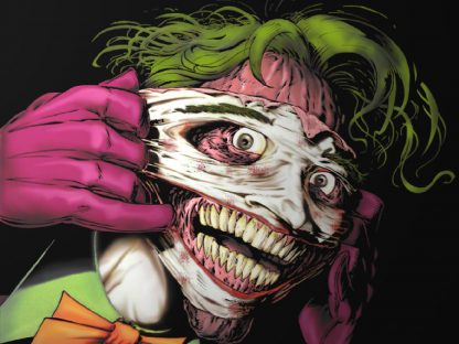 1 Panel Joker sticking his face Multi Canvas Art