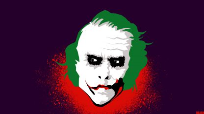 1 Panel Joker from Dark Knight Multi Canvas Art