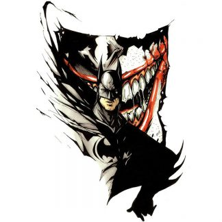 1 Panel Batman Vs. Joker Multi Canvas Art