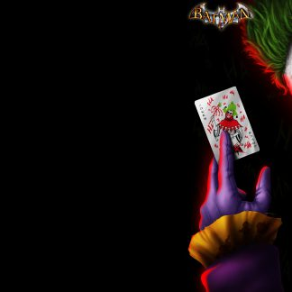 1 Panel Joker Clown Multi Canvas Art