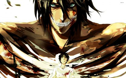 1 Panel Eren - Attack Titan Multi Canvas Art
