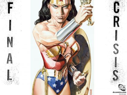 1 Panel Wonder Woman: Cartoon Multi Canvas Art