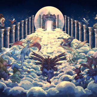 1 Panel Pokemon Heaven Multi Canvas Art