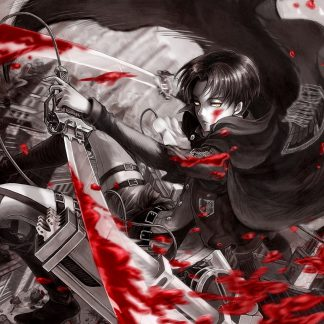 1 Panel Levi Blood Multi Canvas Art