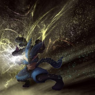 1 Panel Lucario Multi Canvas Art