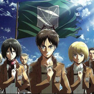1 Panel Survey Corps - Devote Your Heart Multi Canvas Art
