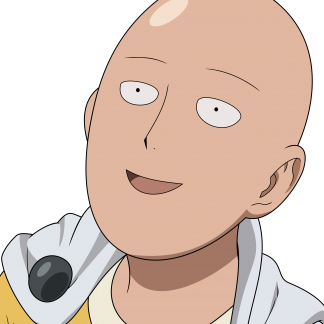 1 Panel Saitama Face Multi Canvas Art