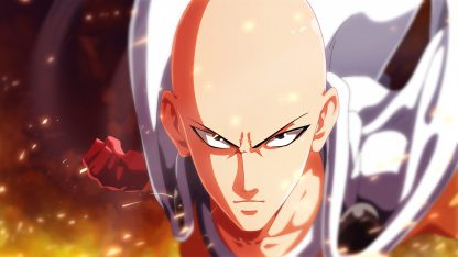 1 Panel Saitama Punch Multi Canvas Art