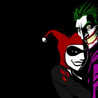 1 Panel Joker and Harley Quinn Multi Canvas Art