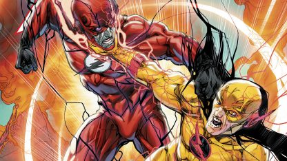 1 Panel Flash Vs. Reverse Flash Multi Canvas Art