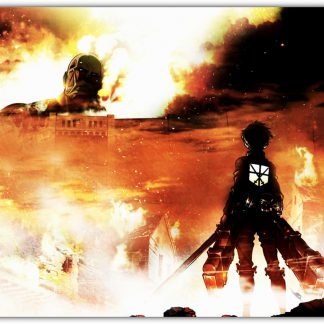 1 Panel Attack on Titan Poster - Colossal Titan Multi Canvas Art