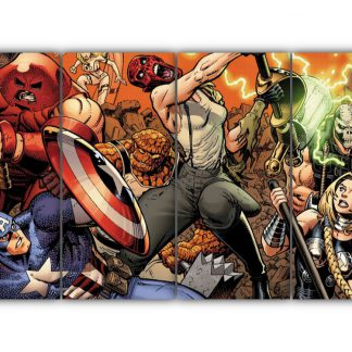 4 Panels Avengers Multi Canvas Art