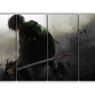 4 Panels Levi Multi Canvas Art