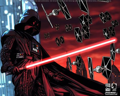1 Panel Darth Vader with TIE fighter Multi Canvas Art