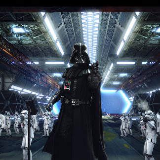 1 Panel Darth Vader and Storm troopers Multi Canvas Art