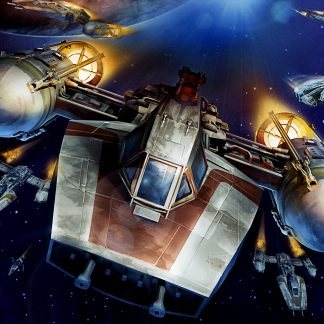 1 Panel Star Wars A Wing Trainer Multi Canvas Art