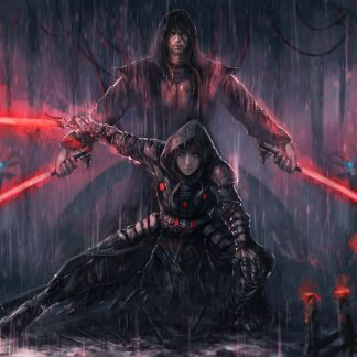 1 Panel Sith Warriors Multi Canvas Art