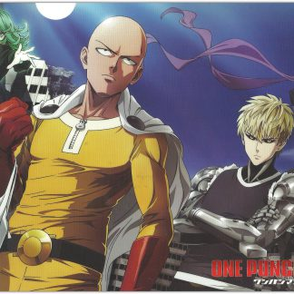 1 Panel One Punch Man Cast Multi Canvas Art
