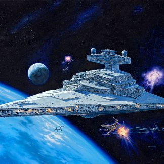 1 Panel Imperial Star Destroyer Multi Canvas Art